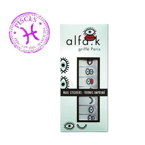 12. Alfa.k Nail Stickers