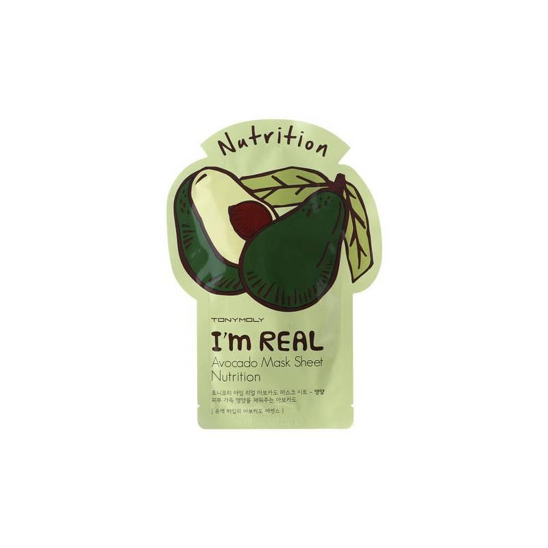 TonyMoly Im Real Nutrition Avocado Mask Sheet