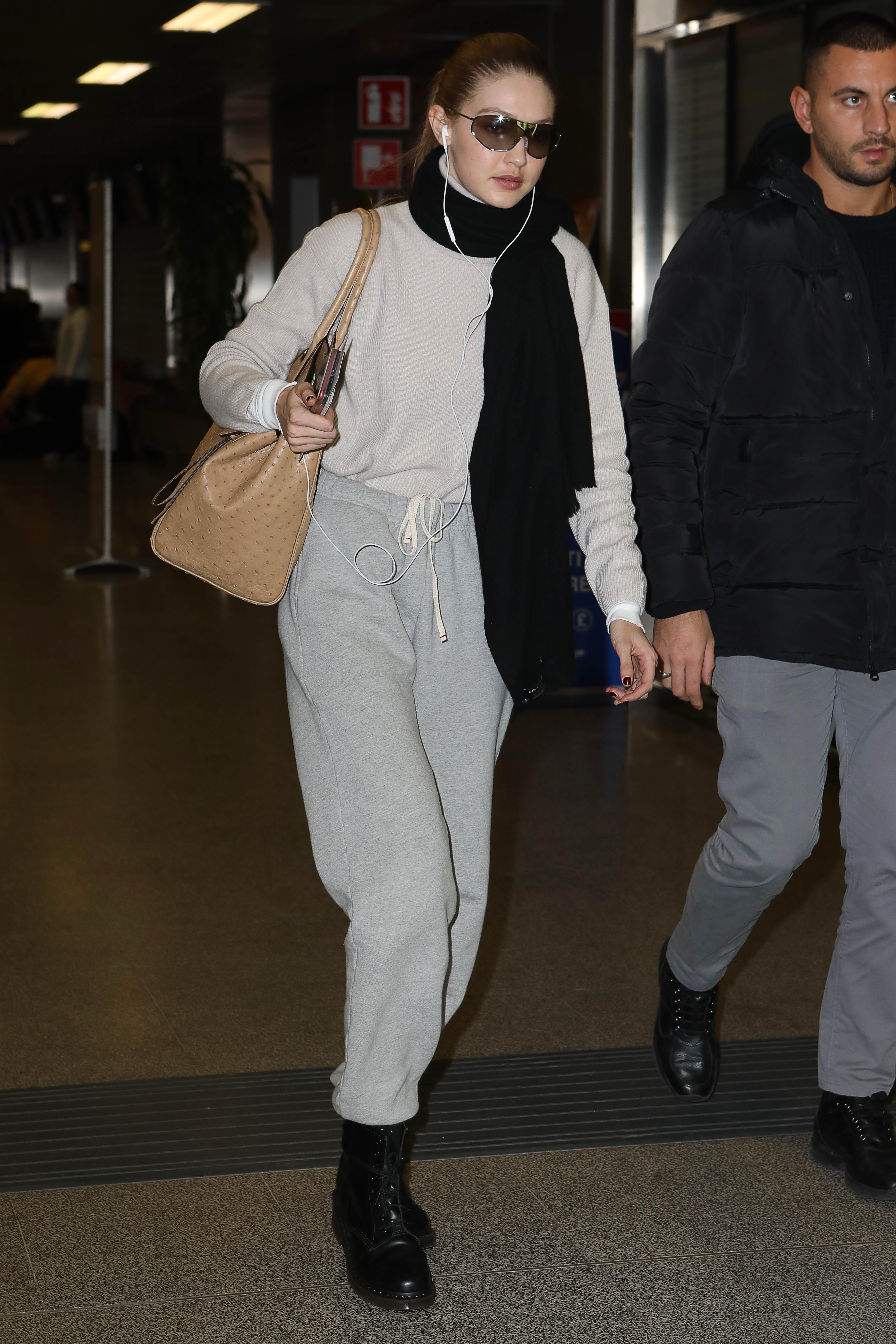 Gigi Hadid Milan Fashion Week Getty Images 1