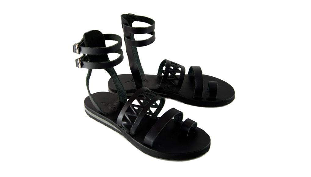 Areti Black Sandals 2