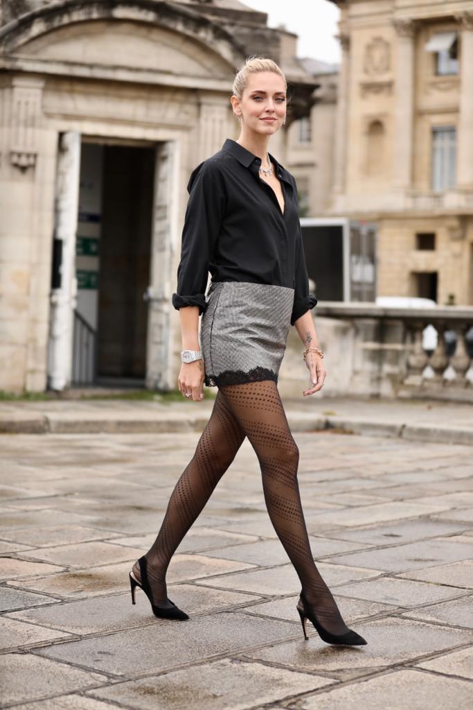 Chiara Ferragni Paris Fashion Show