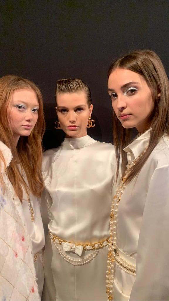 Makeup at Chanel Métiers dArt 2019 2020 Show