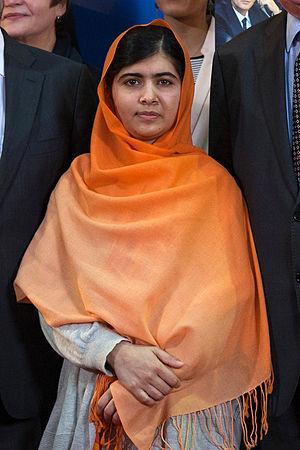 Malala Yousafzai par Claude Truong Ngoc novembre 2013 02