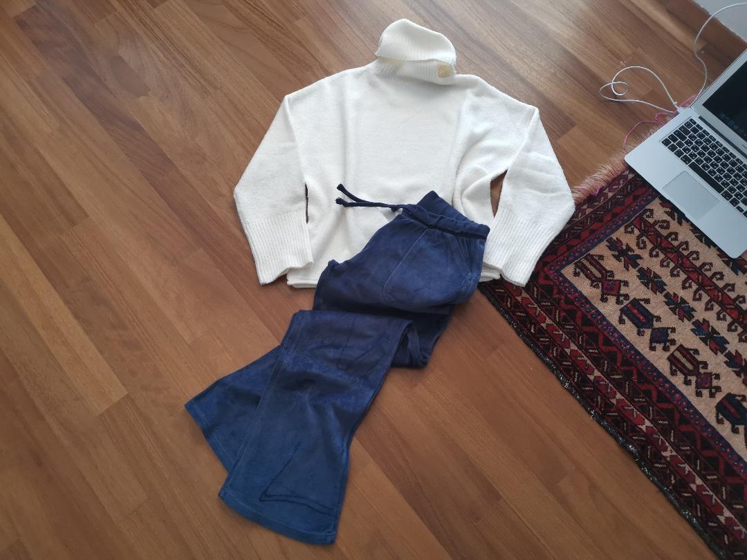 pullover jean salamoura