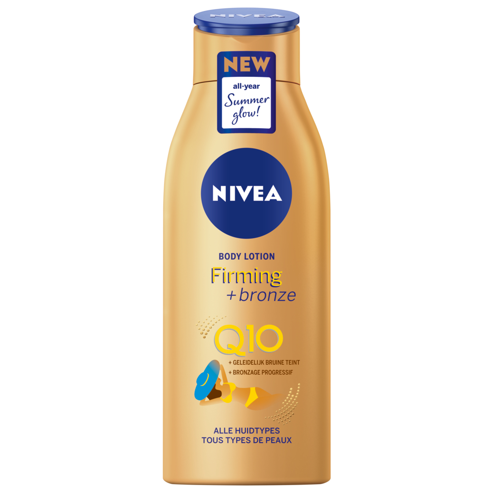 NIVEA Q10 BODY LOTION FIRMING BRONZE