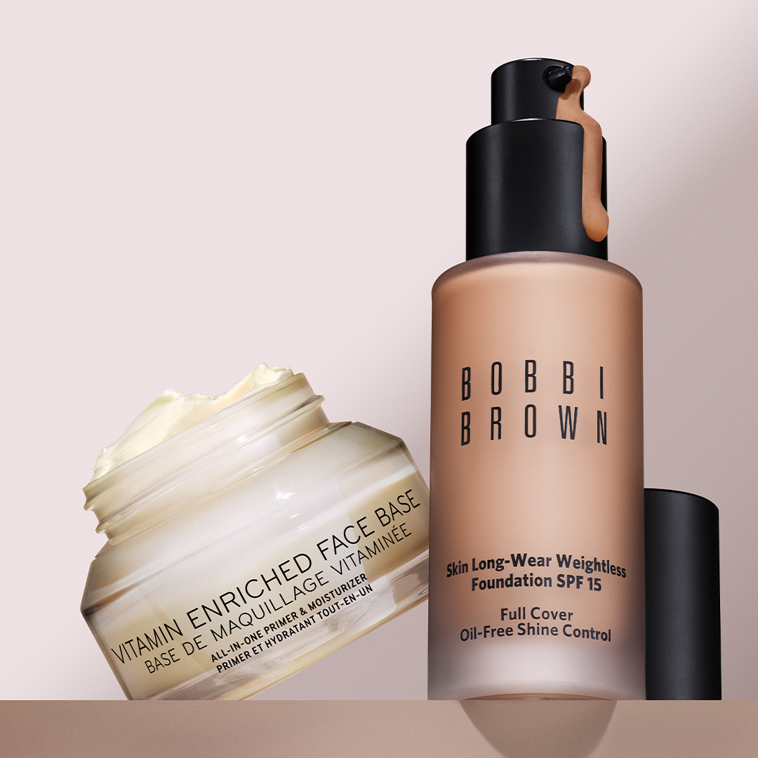 BB Foundation Vitamin Enriched Face Base Combo