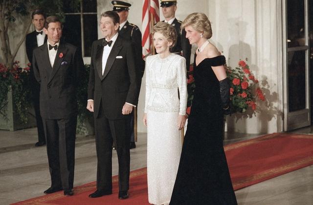 travolta dress Diana
