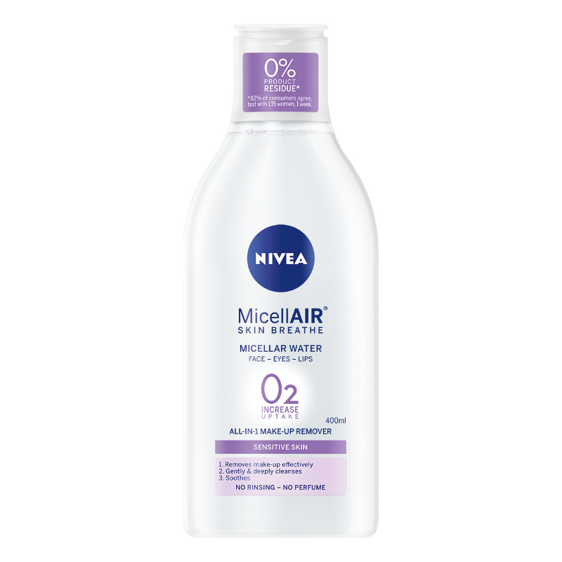 NIVEA MICELLAIR SKIN BREATHE 02