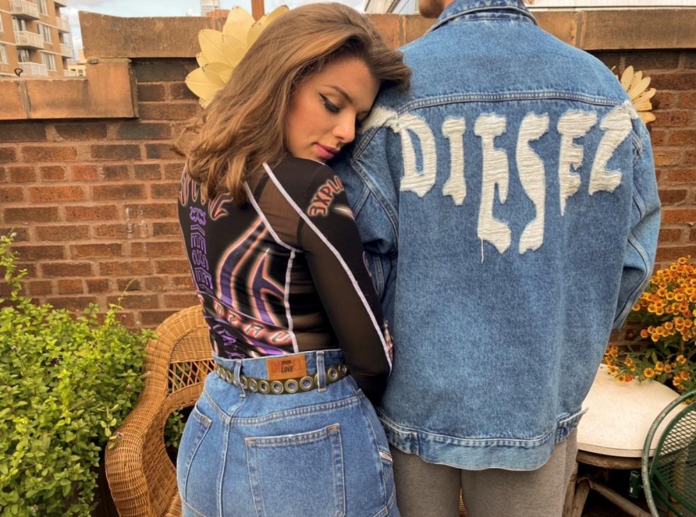 JULIA FOX X DIESEL UNFORGETTABLE DENIM 2020 LOVE 02