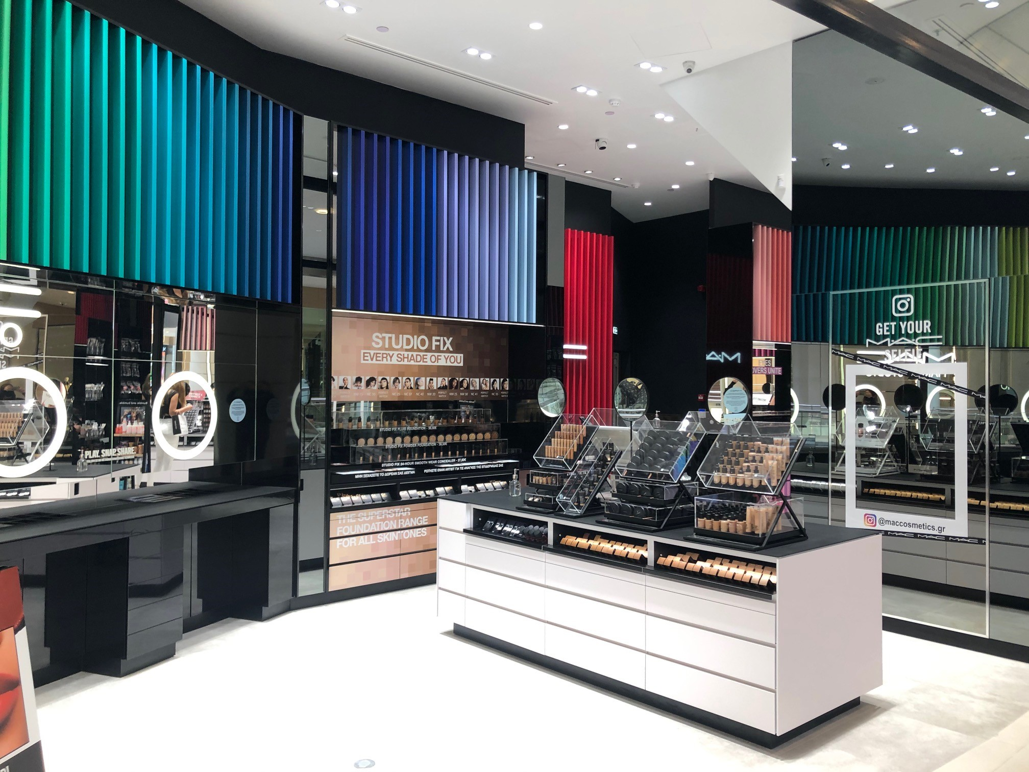 MAC Cosmetics Concept Store The Mall Athens 5