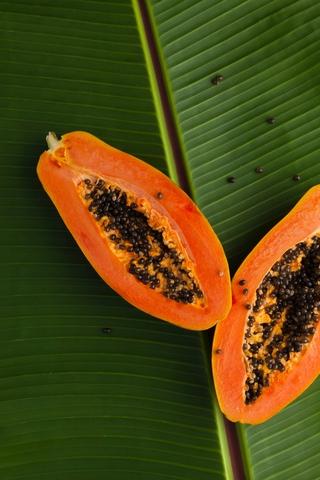 maska prosopou me papaya