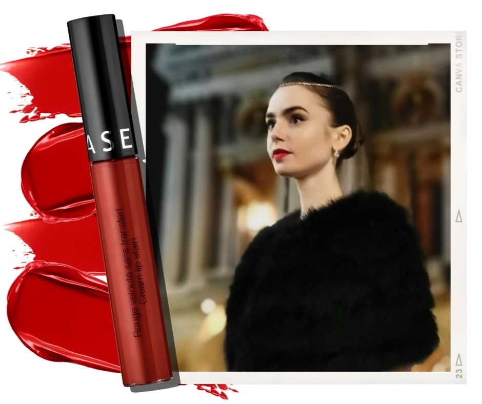 emily in paris lily collins lipstick sephora