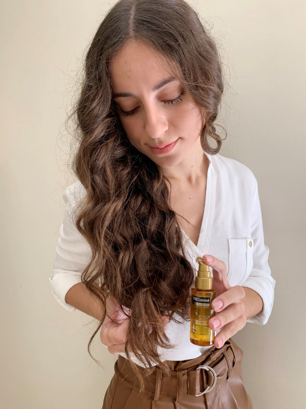 schoina tresemme keratin hair challenge 3