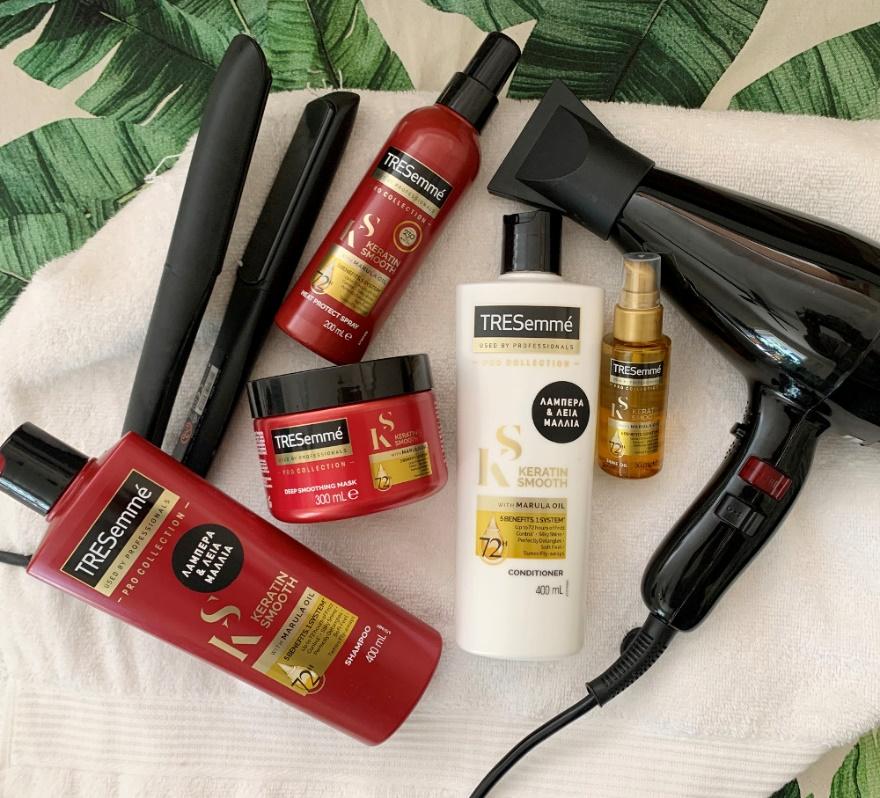 schoina tresemme keratin hair challenge 5