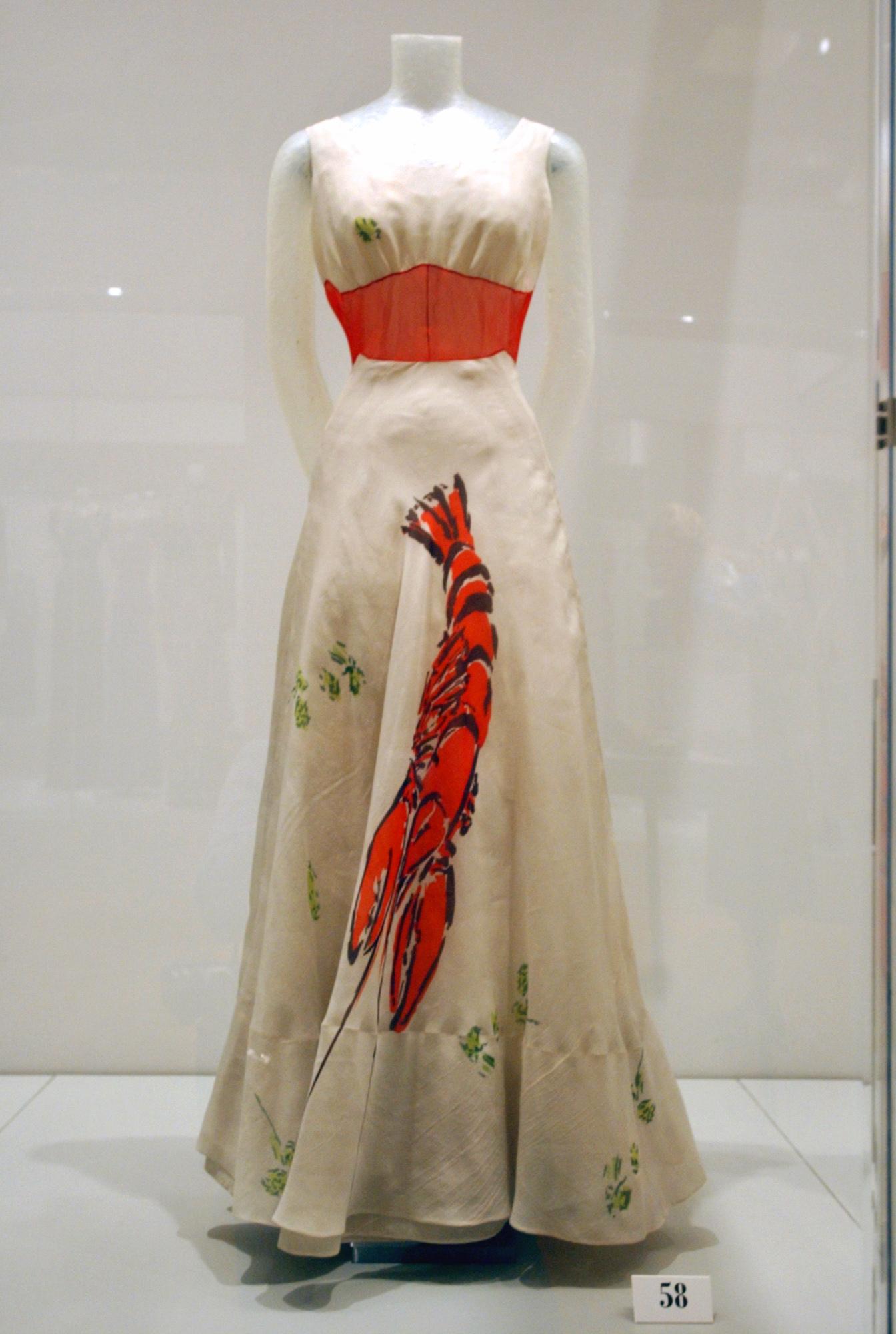 schaparelli lobster dress