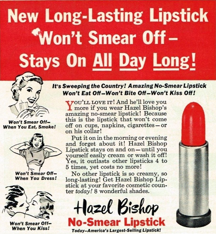 HAZEL BISHOP LONG LAST LIPSTICK DIAFIMISI
