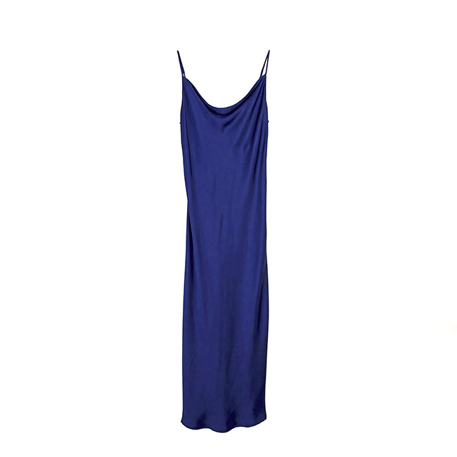 golden hall house of style miko blue dress
