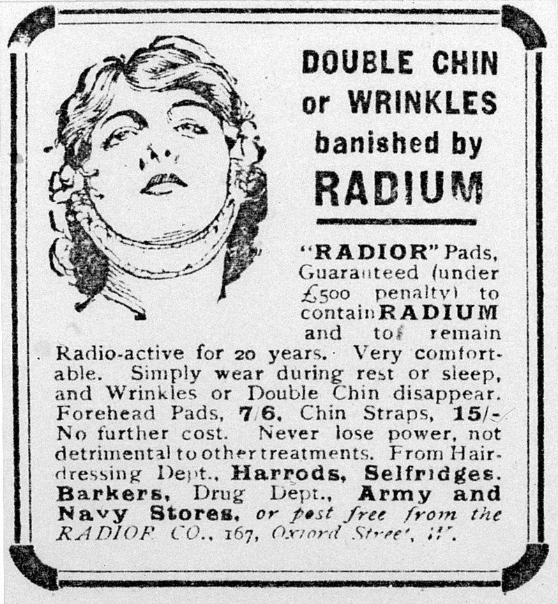 radium chin strap