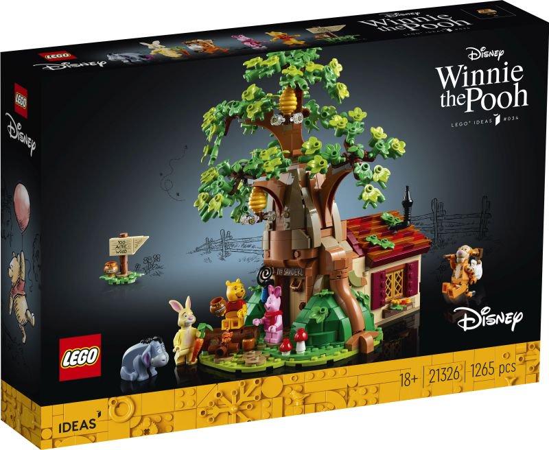 LEGO Winnie The Pooh 21326 box