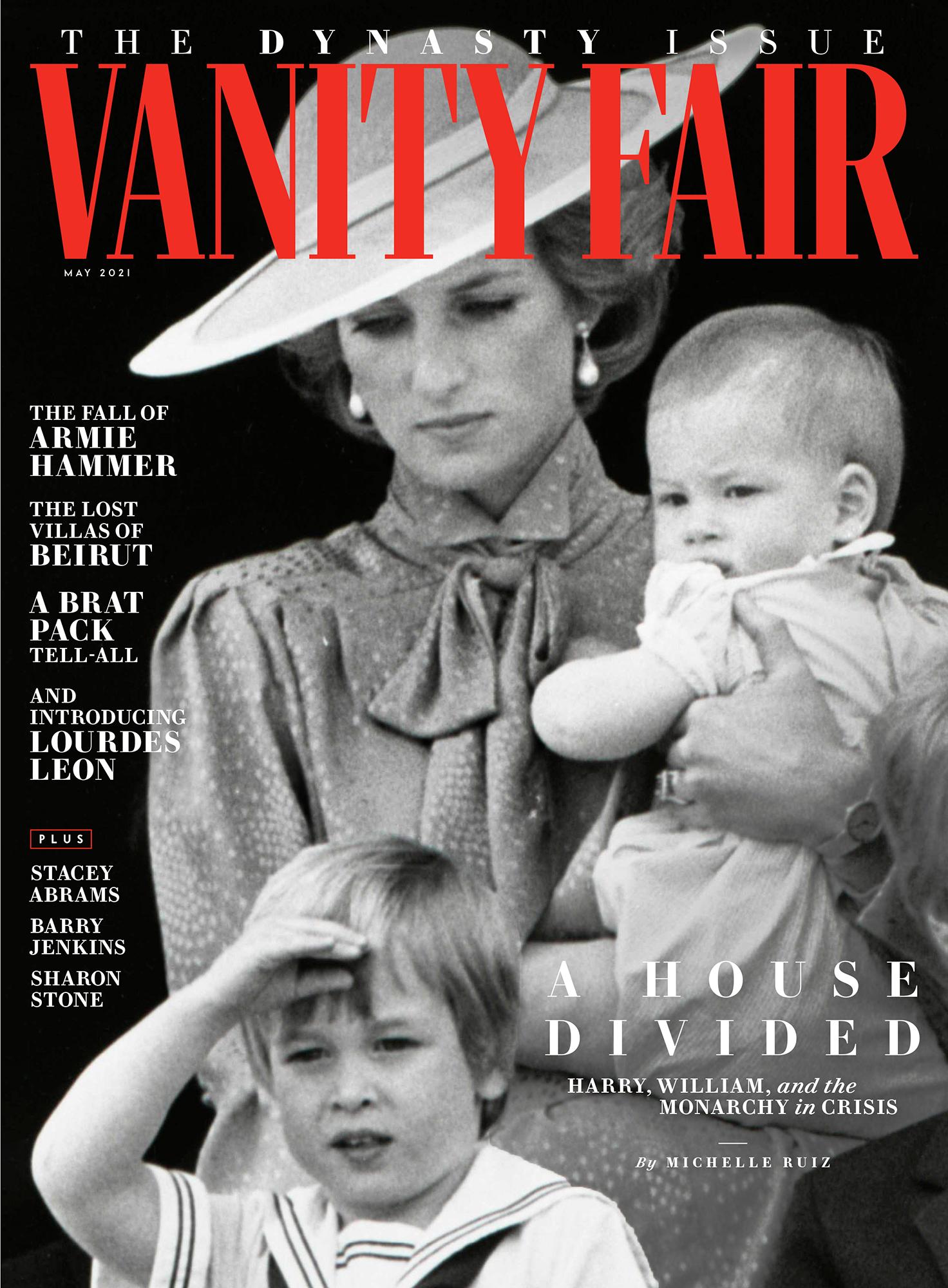 vanity fair frontpage