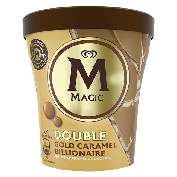 Double Gold Caramel Billionaire kypello