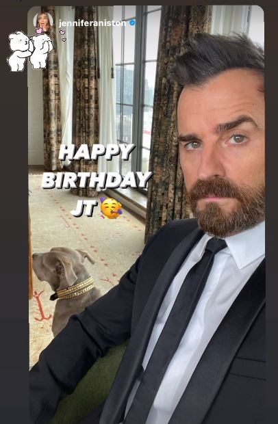 theroux aniston birthday