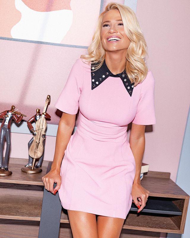 fay skorda dress pink beauty