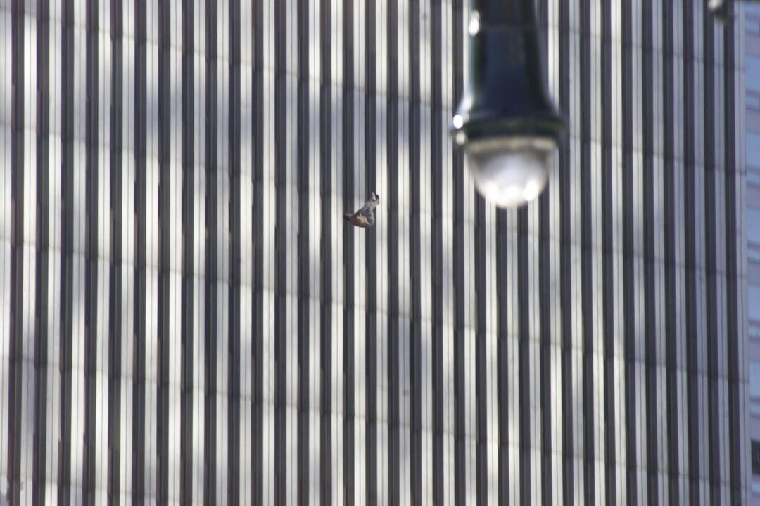 september 11 north tower man jumps