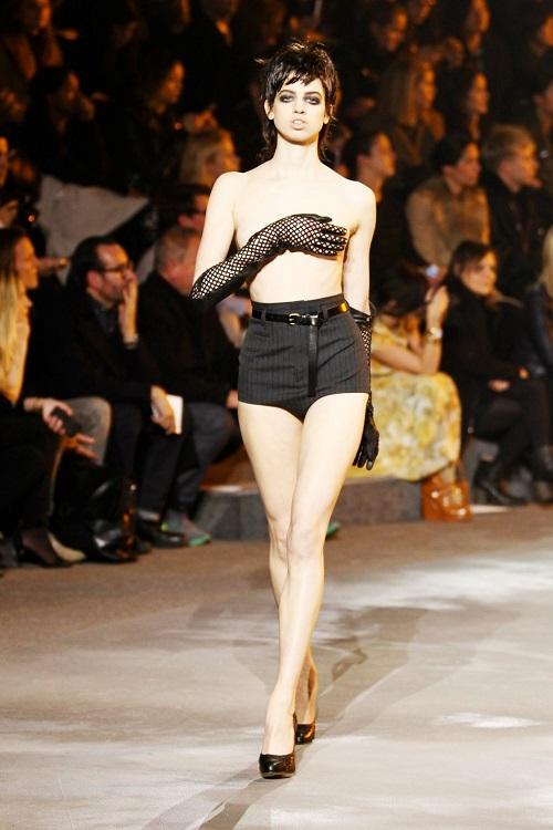 lily mcmenamy fashion show marc jacobs